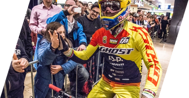 Tomas Slavik started Downmall Tour 2016 with 2nd spot